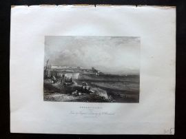 After Brandard 1834 Antique Print. Broadstairs, Kent
